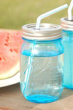 DIY - Canning Jar Cup with Straw
