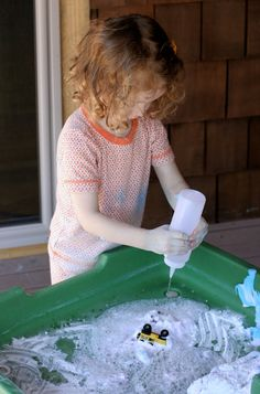 Fizzy Foaming Car Wash from Fun at Home with Kids