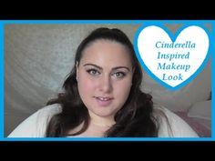 Cinderella Inspired Makeup Look - YouTube