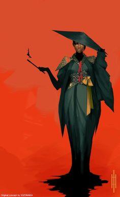 Original character concept. https://www.patreon.com/SOZOMAIKA?ty=h