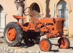 orange + tractor