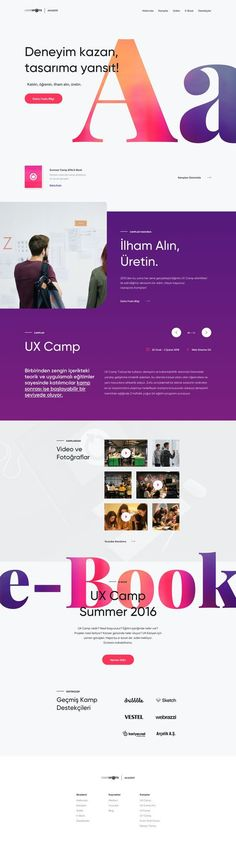 Website design Modern Web Design, Web Design Trends, Graphic Design, Web Layout, Layout Design, Book Design, App Design, News Website Design, Website Designs
