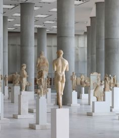 The new Acropolis Museum, Athens, Greece. A must-see if in Greece! The museum is incredible. Also see Delos museum! Bernard Tschumi, Carthage, Greek Art, Expositions, Athens Greece, Acropolis Greece, Parthenon Athens, History Museum, Ancient Greece