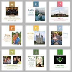 5 Fabulous Quiet Activities for Sacrament Meeting: Gospel ABC Book #lds #mormon