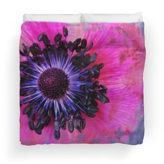Flower #1 by Psychae Duvet covers available on http://www.redbubble.com/people/psychae/works/14325437-flower-1?p=duvet-cover