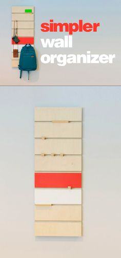 Simple Wall Organizer Hanging Thing