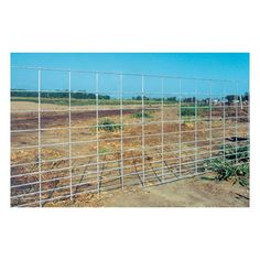 "Mfr #: 33150979, Length: 16', Far superior to pre - galvanized mesh fencing, Exclusive hot dipped mesh panels are welded first and then galvanized providing a thick zinc coating over all welds, giving you over 3 times the protection of pre - galvanized rodGauge:5 Height: 34"" Length: 16' Weight: 28 lb Material Type: Galvanized Mesh Type: Hog."