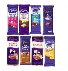 Cadbury Dairy Milk Chocolate, Biltong, Raisin, Rum, Deck, Snacks, South Africa, Food, Image