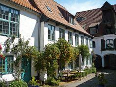historischer Kaufmannshof in der Norderstrasse