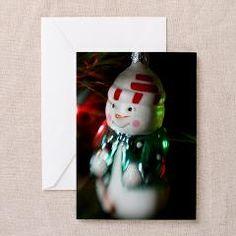 Snowman cute Christmas card