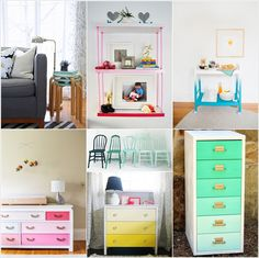 11 Awesome Ombre Furniture DIY Ideas for Your Home