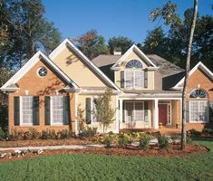 Country House Plan with 2130 Square Feet and 4 Bedrooms from Dream Home Source | House Plan Code DHSW01482