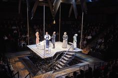 The Crucible. Cleveland Playhouse. Scenic design by Scott Bradley.