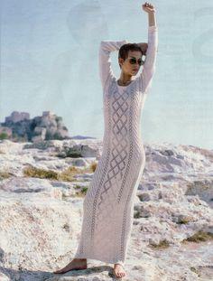 Edina Ronay knits in You mag '94 @YOU Magazine