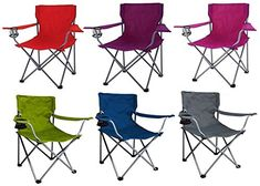 Portable Folding Outdoor Chair Camping Seat Picnic Beach Lawn Assorted Colors * Check out the image by visiting the link.(This is an Amazon affiliate link)