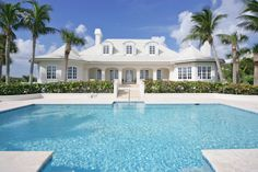 Florida Style Home Vero Beach Johns Island Our Town Pool Outdoor Pools House