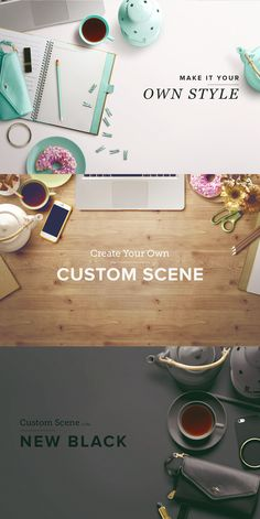 Custom-scene-examples