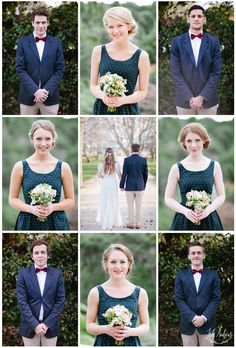 Bridal Party Collage