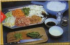 Voici une recette très prisée en Nouvelle-Calédonie mais qui tient son origine d'Indonésie Le Bami 1 paquet de vermicelle chinois 1 tasse de crevettes sèches (les petites , décortiquées si vous ne trouvez pas ) 1 oignon 3 gousses d'ail 4 cuillères à soupe...