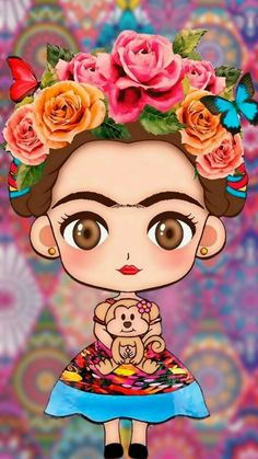 Pin By Crystal Verdugo On 3 Drawings Wallpaper Frida Kahlo