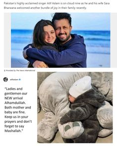 Atif Aslam, Heartfelt Quotes, Mother And Baby, Lady And Gentlemen, Favorite Person, Allah, Prayers, Romance, Singer