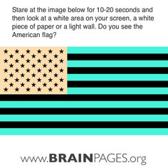 afterburn illusions, American flag illusion