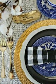 Eclectic Preppy Tablescape - Southern State Of Mind