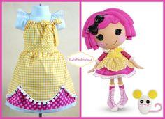 Lalaloopsy dressSugar cookie crumbs dress by 3cutiepiesbowtique, $53.00