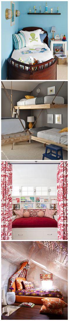 Unique Kids' Beds #kidsrooms