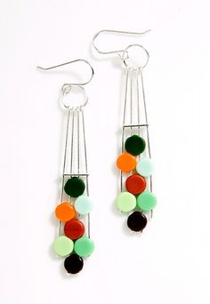 Ronni Kappos  two hole beads with wire