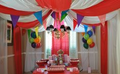 BabyZone: 12 Awesome Ideas for a Circus-Themed Baby Shower | Welcome to the Big Top
