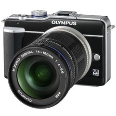 E-PL1 Pen Digital Camera (Black) with 14-150mm Lens >>> Details can be found by clicking on the image.