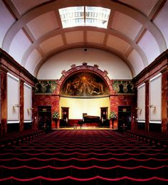 WIGMORE HALL IN LONDON, FORMERLY BECHSTEIN HALL UNTIL WORLD WAR ONE WHEN THE BRITISH APPROPRIATED AND RENAMED IT