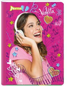 Cuaderno Violetta 5
