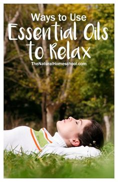 Yes, you can use essential oils to relax! Essential oils are often used as a way to help you relax and to release some of the tension you feel after a long day.