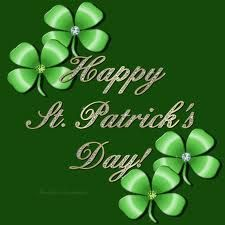 """""""Happy ST. PATRICK'S DAY!"""" _____________________________ Reposted by Dr. Veronica Lee, DNP (Depew/Buffalo, NY, US)"""
