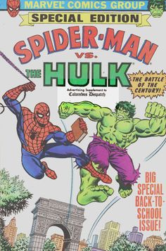 Spider-Man vs. the Hulk Special Edition   comic books comics