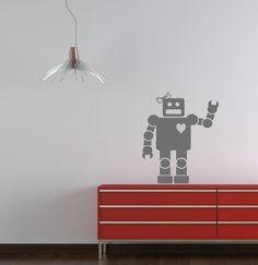 Robot (girl) Vinyl Wall Decal