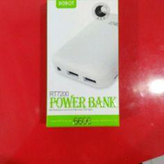 Beli Power Bank Robot RT7200 6000MAH dari Didit Riadi kudil_kadil - Kab. Bogor hanya di Bukalapak