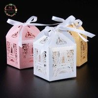 Design:Eiffel Tower Type:Candy Boxes Product total size:Size: 1.97'' 1.97'' x 2.76'' (approx- 5cm x
