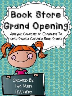 Give your students a chance to see important economic concepts in action. Each student will have an opportunity to open their own used book store. Students will begin by creating a business plan that walks them through important economic decisions that all business owners need to consider before opening day.