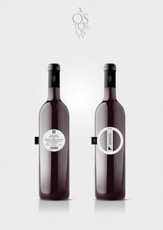 Ostoros wine label winner on Packaging Design Served