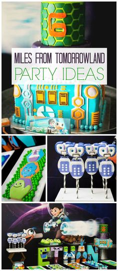 What a super stellar Miles from Tomorrowland party! See more party ideas at CatchMyParty.com!