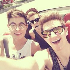 Kian Ricky and Connor