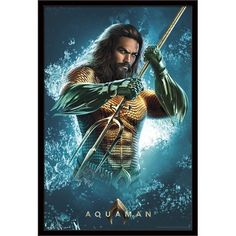 Watch Aquaman The One True King Scene. The action fantasy movie stars Jason Momoa, Amber Heard, Willem Dafoe, and Nicole Kidman. Marvel Comics, Arte Dc Comics, Bd Comics, Marvel Vs, Jason Momoa Aquaman, Aquaman 2018, Dc Movies, Comic Movies, Univers Dc