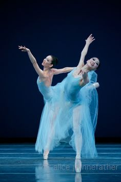 Boston Ballet's 'Serenade' ~ Photo by Alice Pennefather