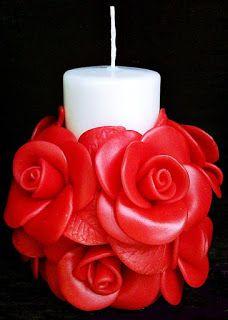 Fancy Candles, Gel Candles, Unique Candles, Beautiful Candles, Pillar Candles, Candle Art, Candle Shop, Candle Lanterns, Baptism Candle