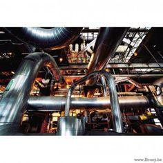 PR Interiors Glaspaneel 120 glaskader Industrie