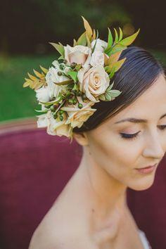 Trending in Bridal Hair #theantiflowercrown ~ 40 Inspiring Examples ~ we ❤ this! moncheribridals.com
