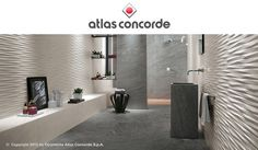 atlas concorde - BRAVE collection Porcelain floor tiles and white-body wall tiles